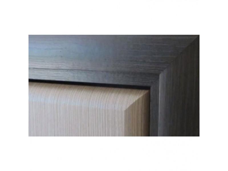 Ліжко Gerbor Коен МДФ LOZ/90 (каркас) | 90x200 / Венге магія / Штрокс темний
