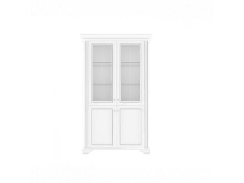 Вітрина Gerbor Вайт 2D1W | Ясен сніжний / Сосна срібна