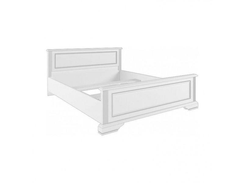 Ліжко Gerbor Вайт 140 (каркас) | 140x200 / Сосна срібна