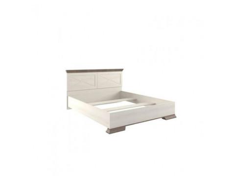 Ліжко Gerbor Марсель (каркас)   160х200 / Ясень сніжний / Дуб сонома трюфель