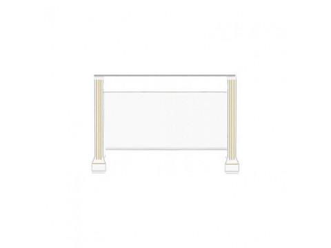 Столик туалетний Gerbor Вайт СН | Сосна золота