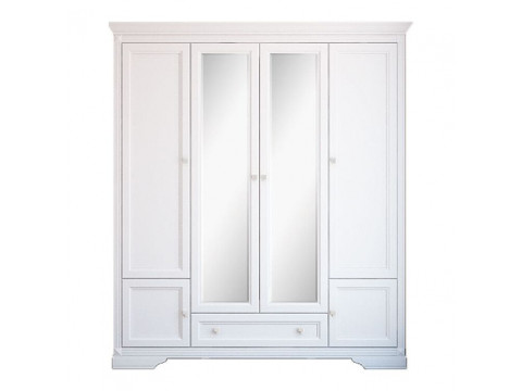 Шафа Gerbor Клео 4d / 1s | Білий