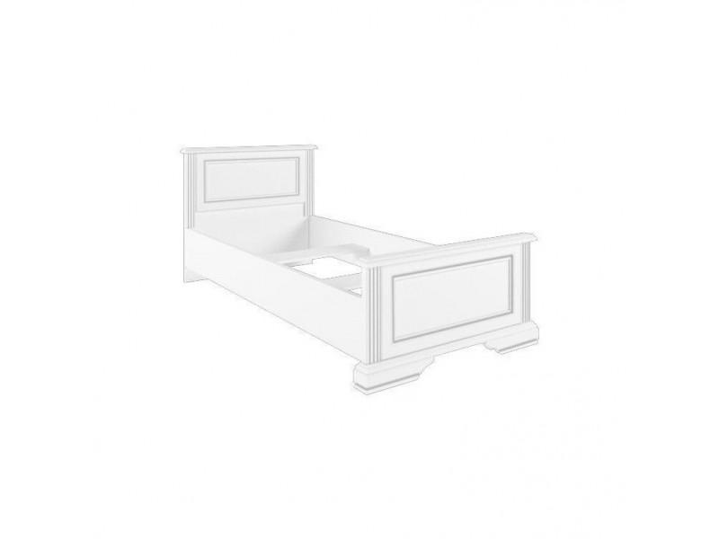 Ліжко Gerbor Вайт 90 (каркас) | 90x200/Сосна срібна