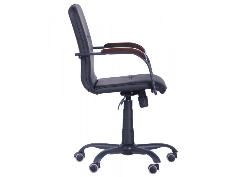 Крісло Самба-RC Чорний графіт горіх Неаполь N-20 з кантом Неаполь N-20