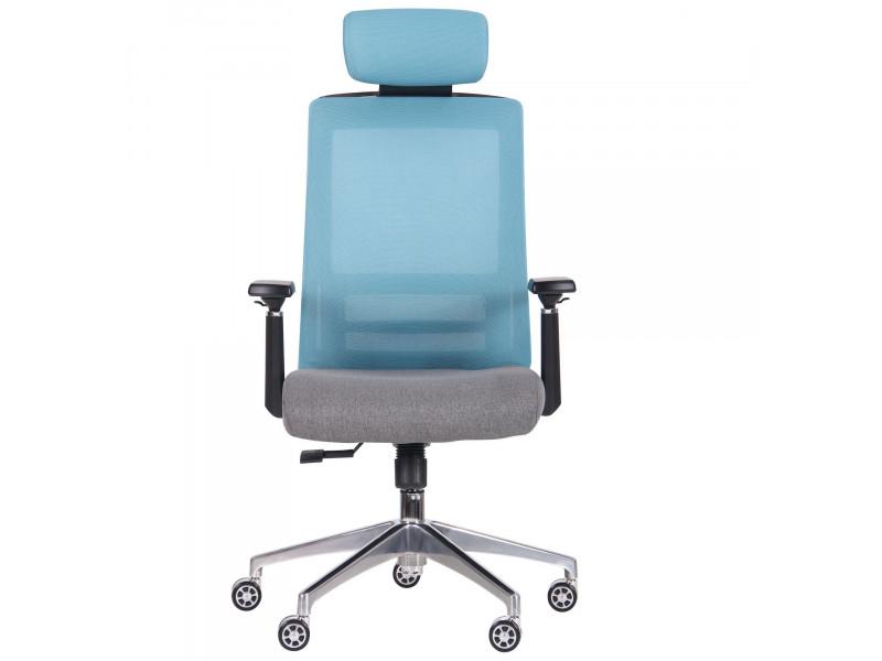 Крісло Self світло-блакитний / сірий