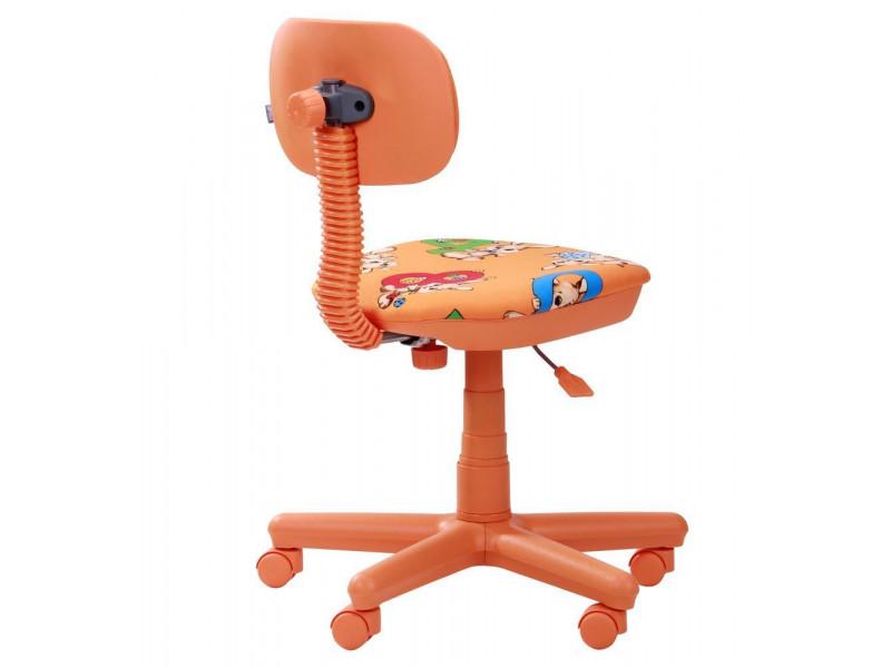 Крісло Світі помаранчеві Зайці