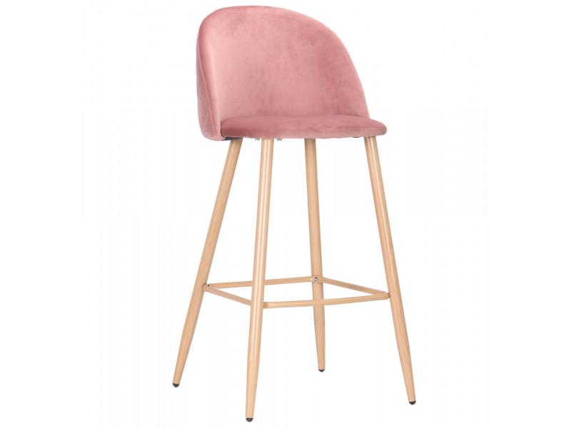 Стілець Bellini бук / pink