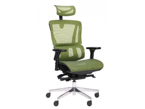 Кресло Agile Black Alum Green