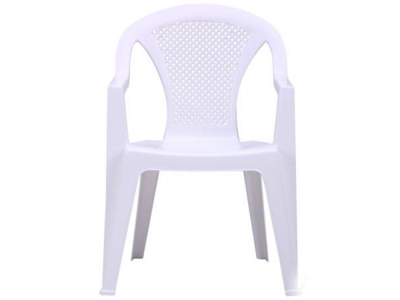Стілець Ischia пластик білий 01