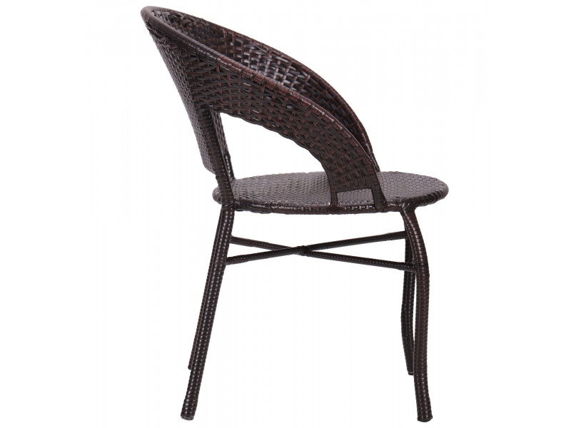 Крісло Catalina ротанг коричневий