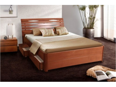 Кровать Мария -Люкс  1.6 (с ящиками)