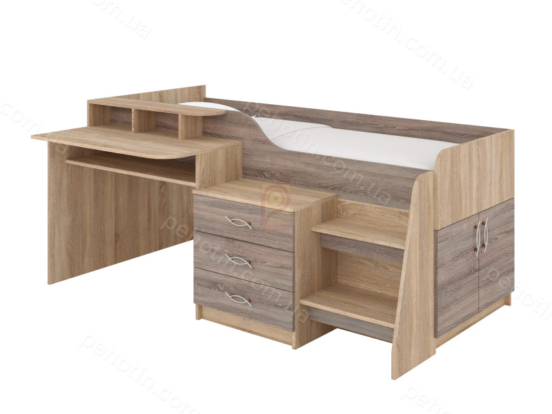 Двох'ярусне ліжко Спейс