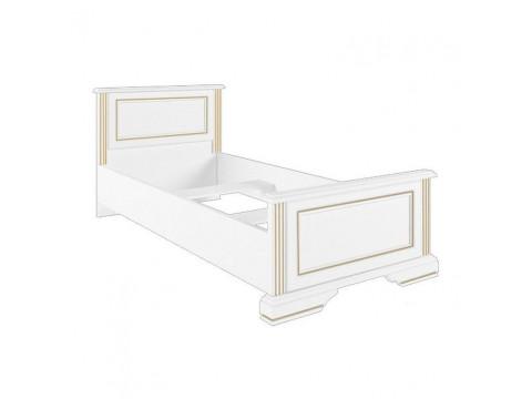 Ліжко Gerbor Вайт (каркас) СН | 90x200 / Сосна золота