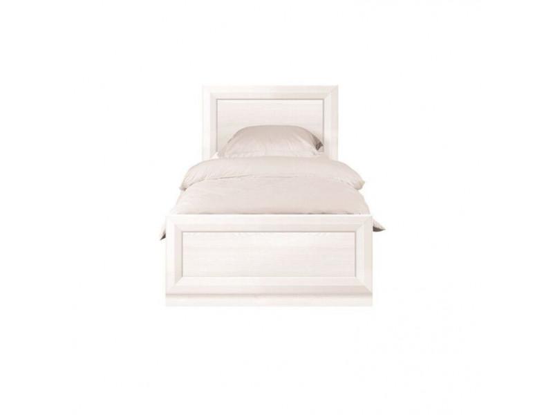 Ліжко BRW Україна Маркус B136-LOZ90x200 (каркас) | 90x200/Сібу світлий/Джанні