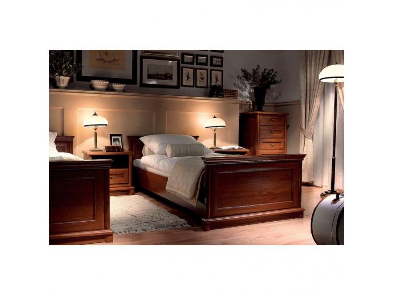 Ліжко Gerbor Соната | 90х200 / Каштан