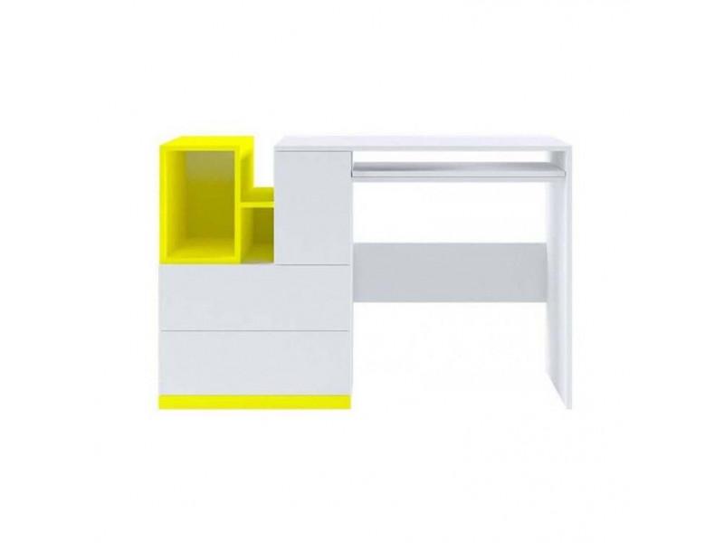Стіл Gerbor Мобі BIU/130 | Німфея альба/уніколор жовтий