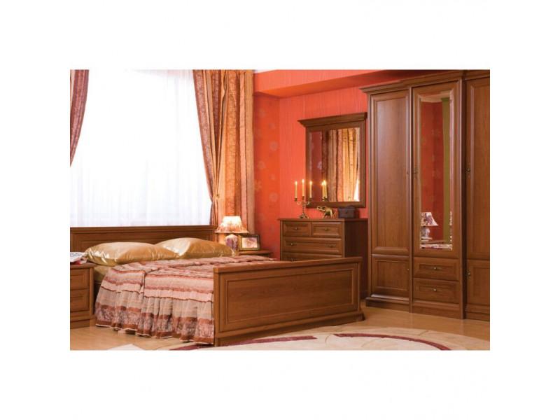 Ліжко Gerbor Соната (каркас) | 180х200 / Каштан