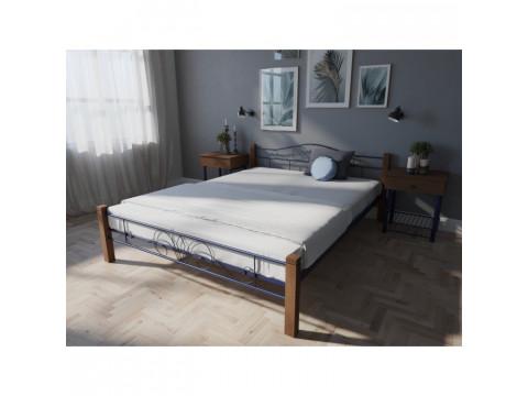 Кровать Лара Люкс Вуд (двуспальная)