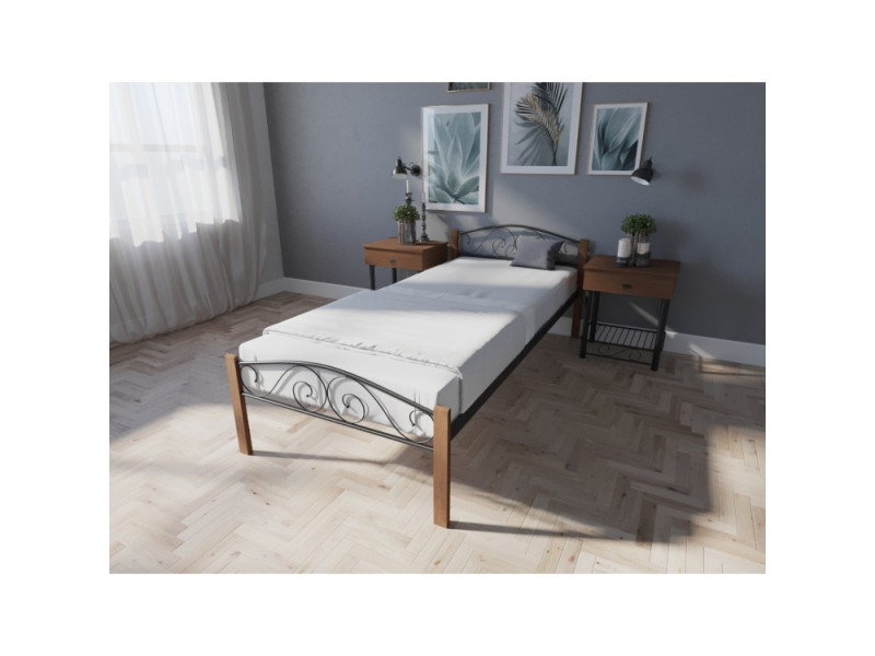 Ліжко Еліс Люкс Вуд 90