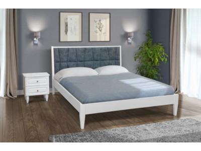 """Ліжко """"Ніколь"""" (біла)"""
