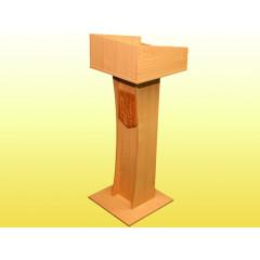 Трибуна с узкой основой, с гербом 08071