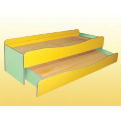 Кровать детская, 2-ярусная 0834