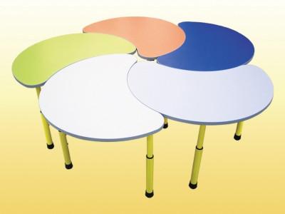 Комплект из 5-ти столов «Цветок» 8713*5