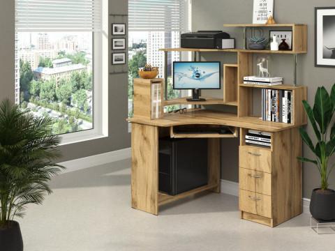 """Компьютерный стол """"Компакт"""" + надстройка"""