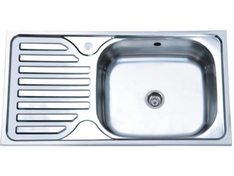 Мойка Platinum 7642 Полировка