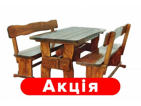 Комплект деревянной мебели 1100*800