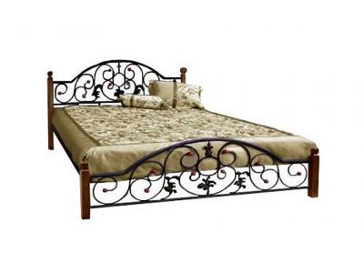 Ліжко Жозефіна дерев'яні ніжки